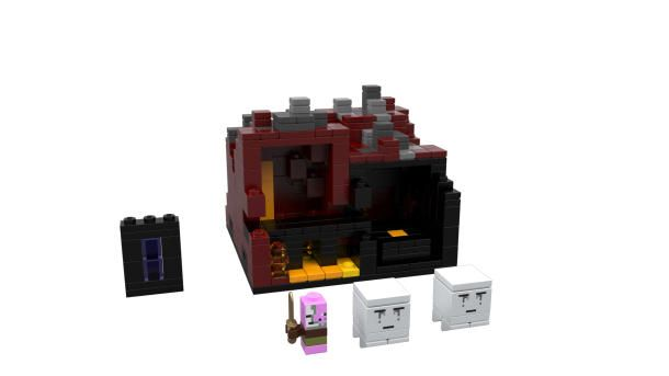 At Comic-Con today, Lego will announce two new Minecraft sets, The Village and The Nether, building on their successful 2012 partnership. http://cnet.co/15G4zR5