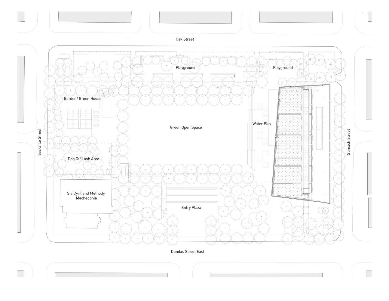 Gallery Of Regent Park Aquatic Centre Maclennan Jaunkalns Miller Architects 12 Regents Park Architect Site Plan