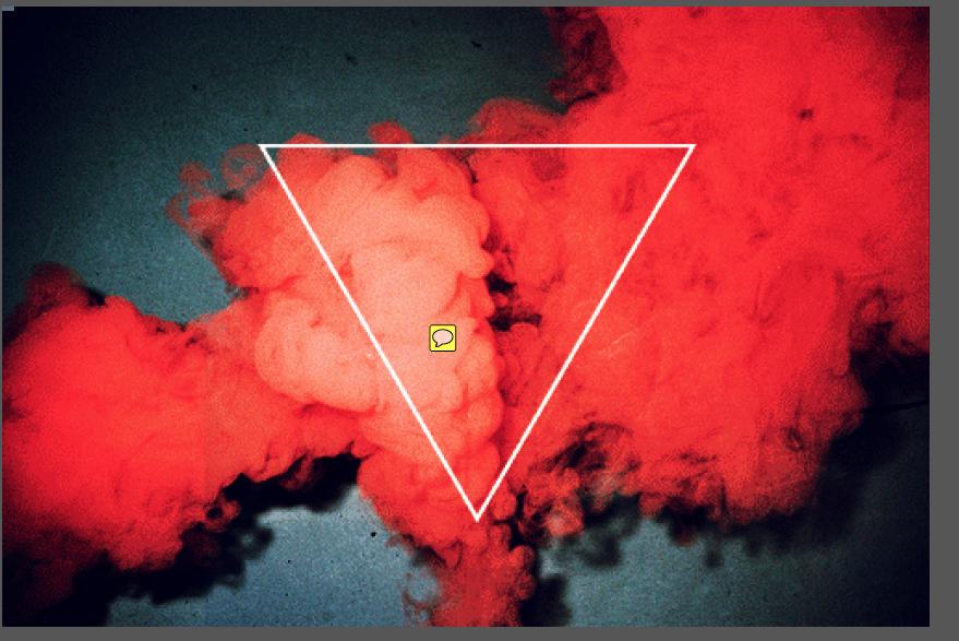 Triangle Smoke Bomb