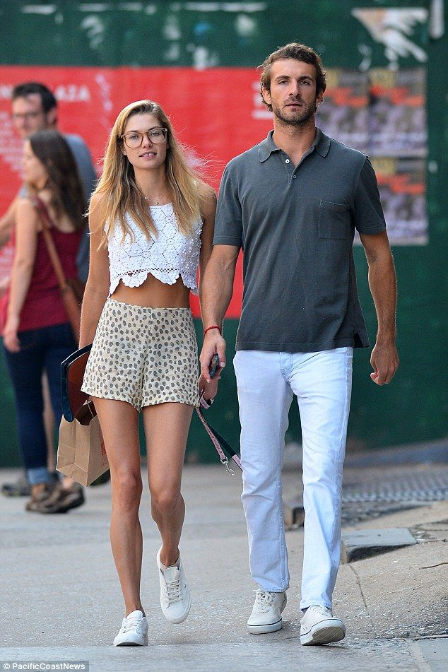 Jessica Hart steps out with billionaire boyfriend Stavros ...
