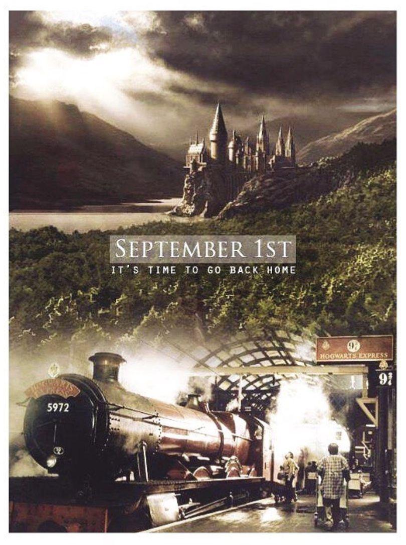 Happy September 1st Potterheads Harry Potter Universal Harry Potter World Hogwarts