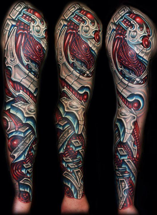 Transformer Mechanical Sleeve Biomechanical Tattoo Best Sleeve Tattoos Mechanic Tattoo