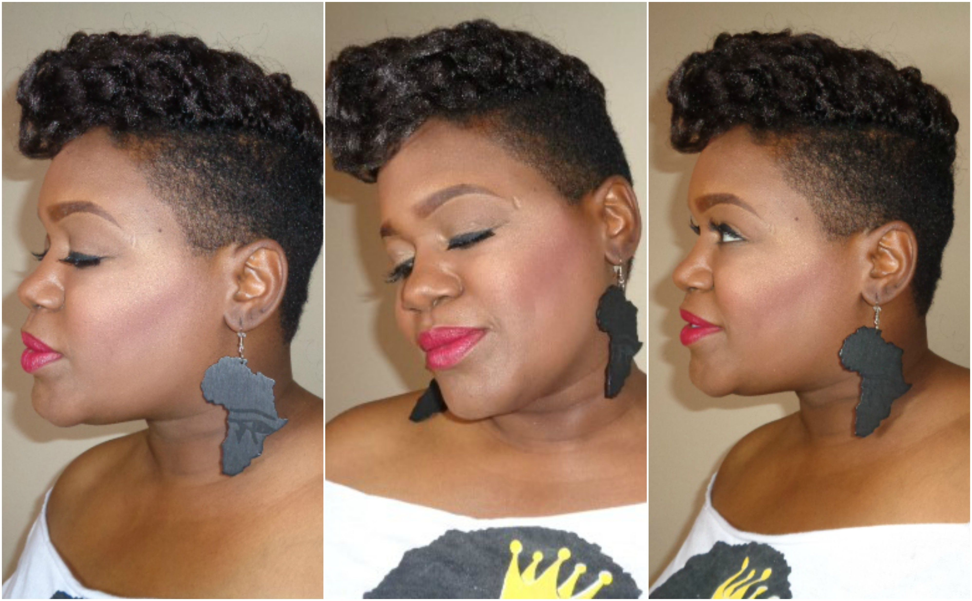 Undercut Hair Style With Crochets Full Video On Youtube
