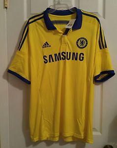 aae1d9fe1 NEW Adidas Chelsea FC Soccer Football Away Jersey Mens XL M37745 Samsung  Yellow