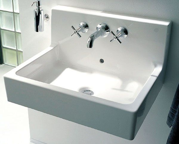 duravit 045360-00-00-1 vero wall mount bathroom sink - fixture