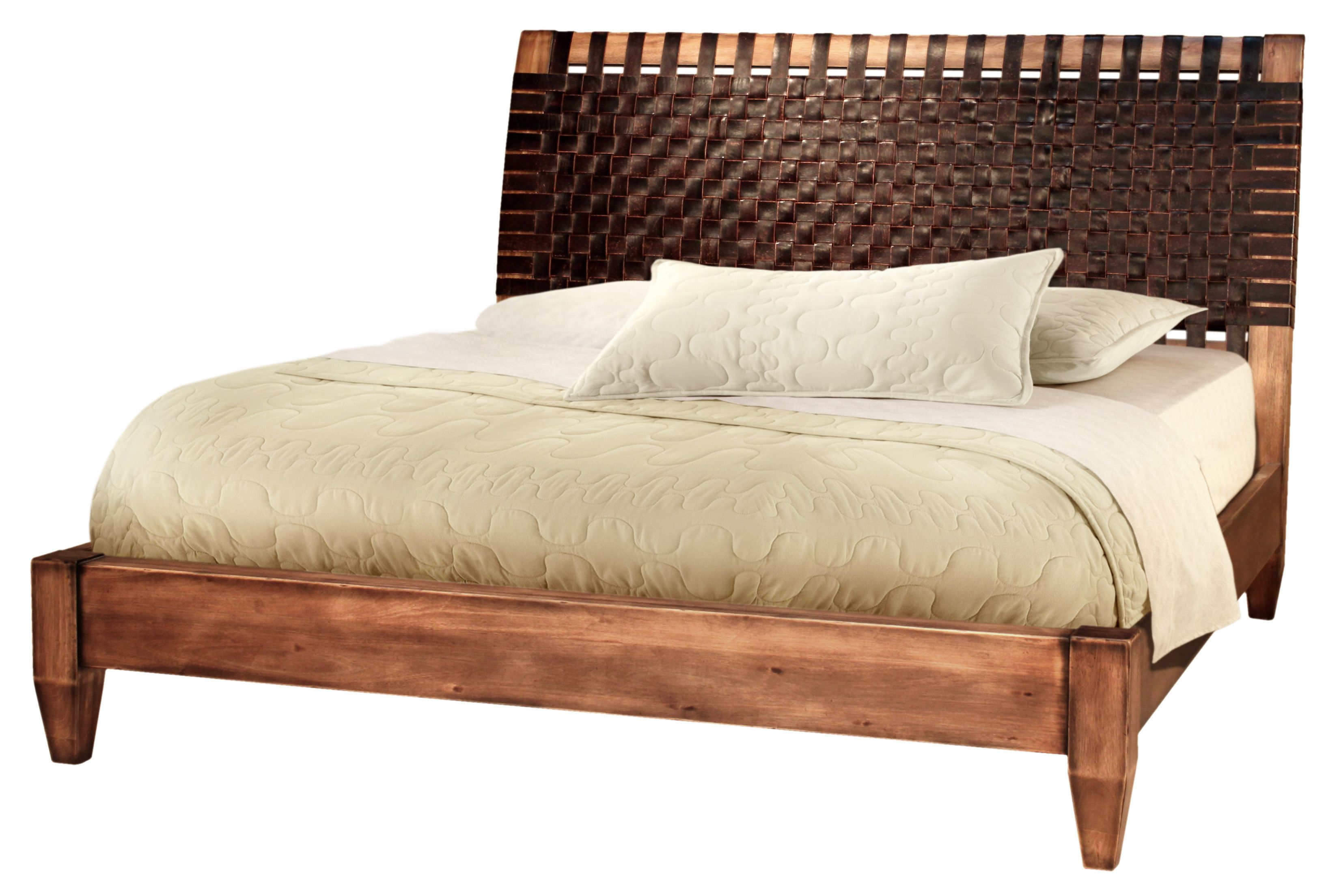 designs wood low profile bed frame queen size with unique headboard ...