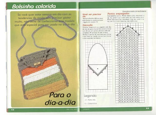 Tejido Facil: Crochet | Purses, bags, coin purse, clutch | Pinterest ...