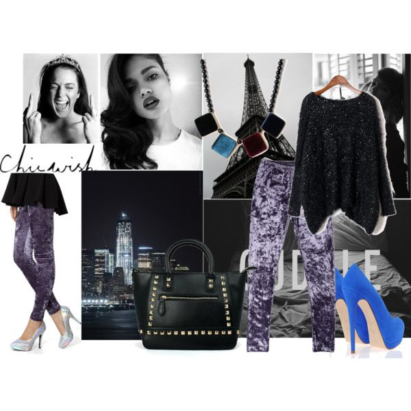 """""""Velvet: Chicwish Inspiration.."""" by serependity on Polyvore"""