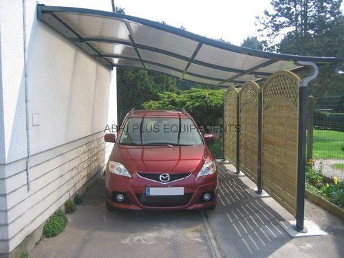 Steel Carport Polycarbonate Finelli Abri Plus