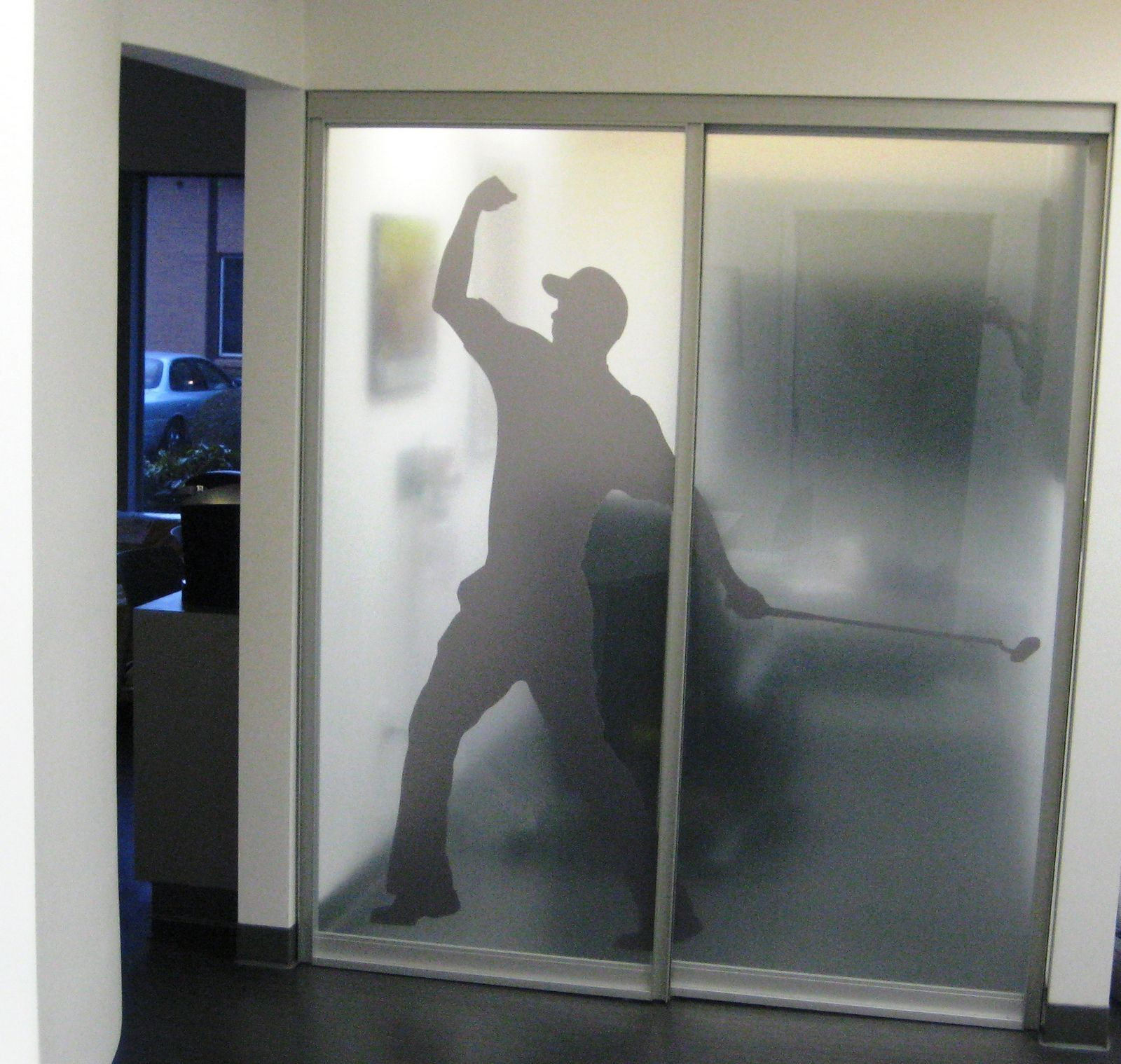 Sliding Glass Door Frosted Film : translucent door film - pezcame.com