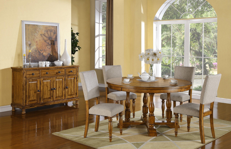 Grand Estate Pedestal Dining Set Dgset Dining Sets From