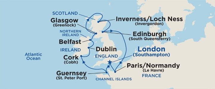 Princess Cruises: The Best British Isles Cruise (Review) Experience #britishisles