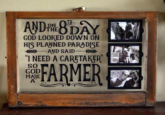 God Made A Farmer Old Windows Doors Shutters Ladders