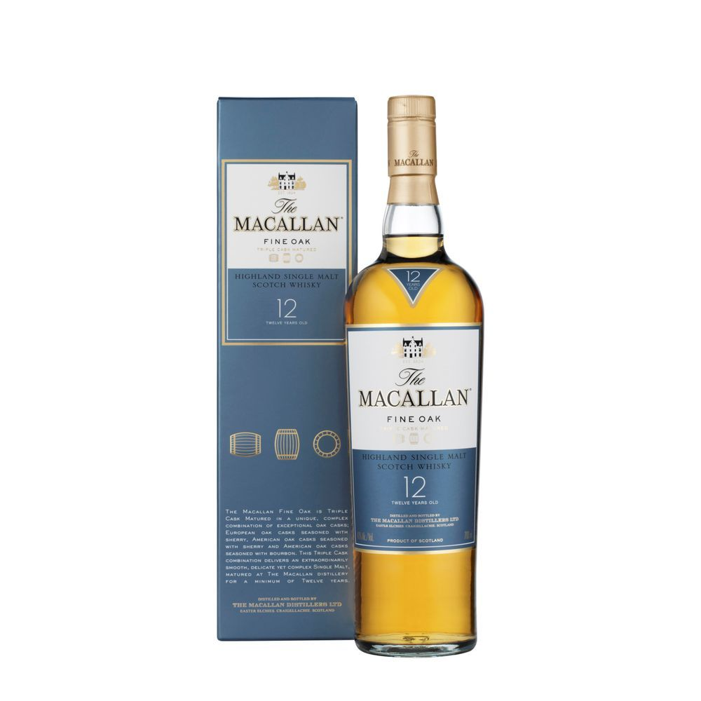 Whisky The Macallan 12 Anos 700ml Super Adega Whisky Macallan