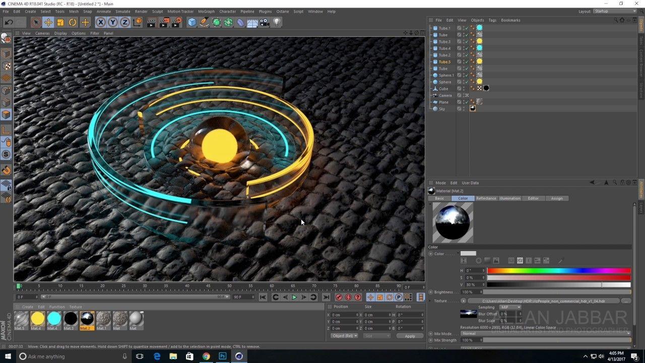 Cinema 4D Displacement tutorial Cinema 4d, Cinema 4d