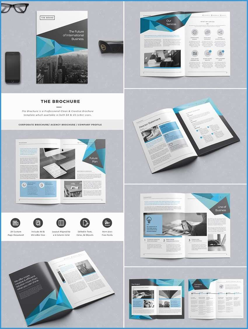 044 Adobe Indesign Flyer Templates Free Awesome Brochure