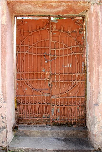Synagogue Entrance, L'viv Ukraine by mitchjf, via Flickr