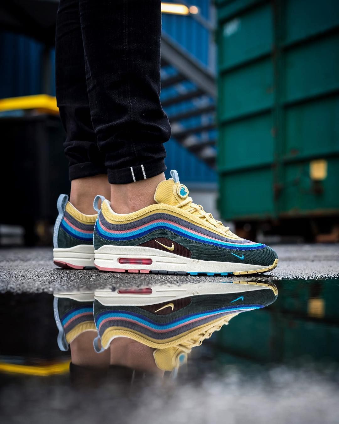 "af90a448e028 ""The Sean Wotherspoon x Nike Air Max 1 97 is finally dropping on March  26th. Cop or pass …"""