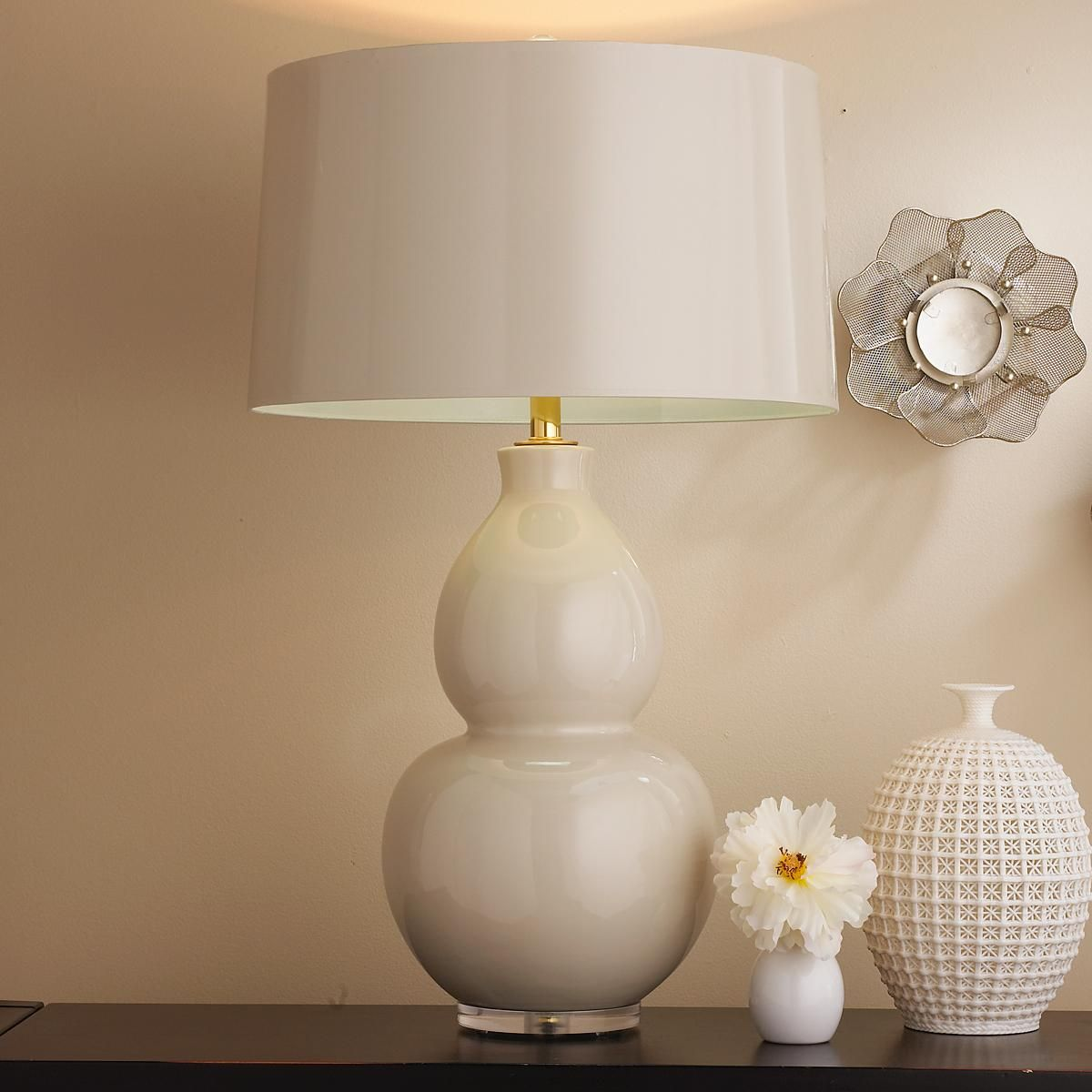 Pop Color Modern Ceramic Table Lamp With Images Ceramic Table