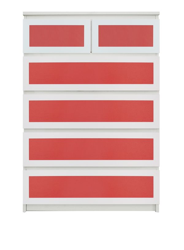 Show details for Rex Thick O'verlays Kit for IKEA MALM (6 drawer chest)