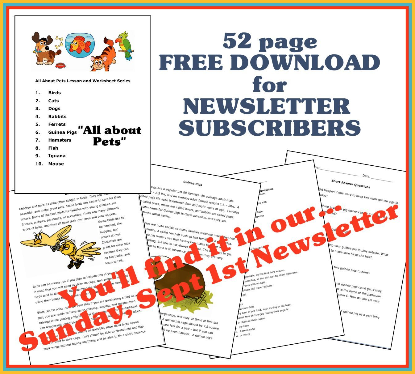 Link Will Be In This Sunday S Newsletter Sign Up