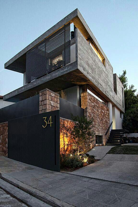 Modern home House exterior Pinterest Maison moderne, Maison - Photos De Maison Moderne
