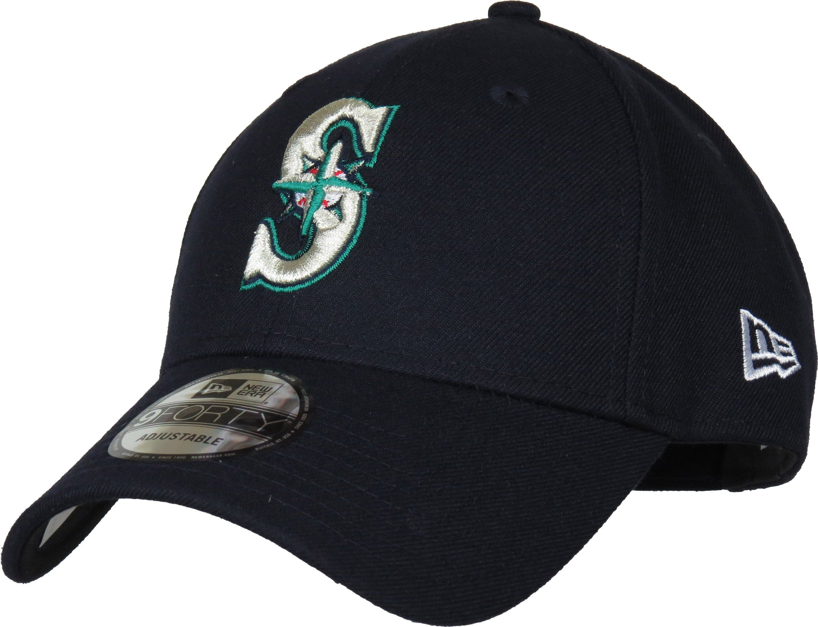 sale retailer 1e5f3 90118 Seattle Mariners New Era 940 The League Pinch Hitter Baseball Cap –  lovemycap