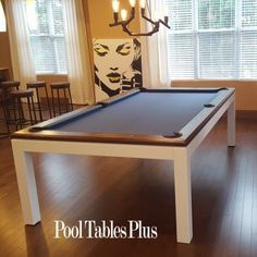 Image Result For Aragon 7 Foot Dining Pool Table White Custom
