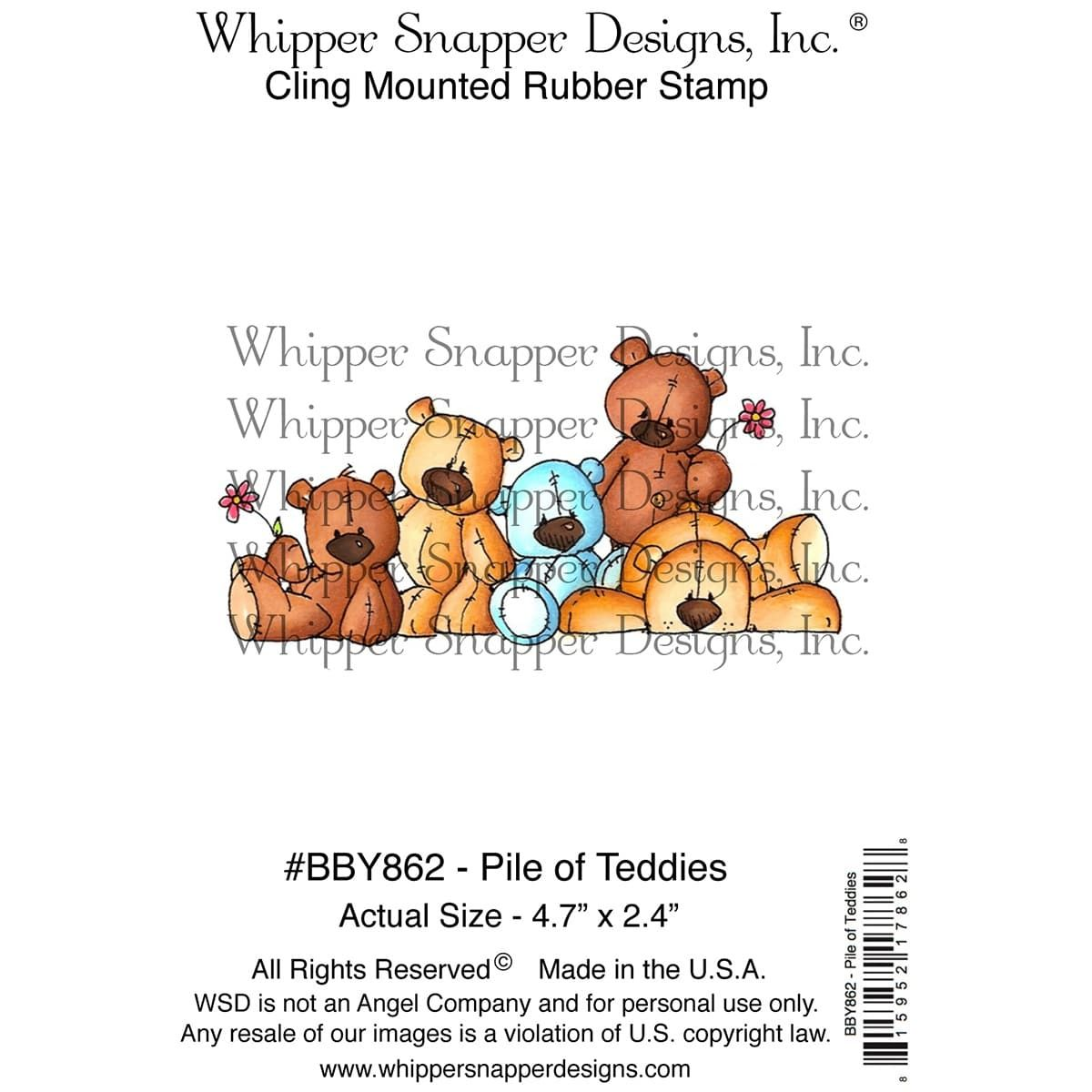 Whipper Snapper Cling Stamp