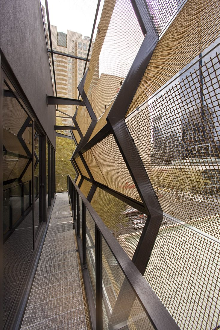 Woven Wire As External Facade And Architectural Feature