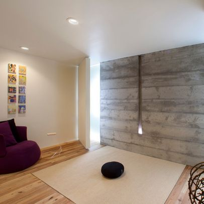 home yoga studio design ideas. Meditation Design Ideas  Pictures Remodel and Decor page 5 Reclaimed wood to cover hockey dents Basement Pinterest