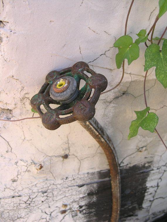 industrial garden decorone mans junk is anothers treasure