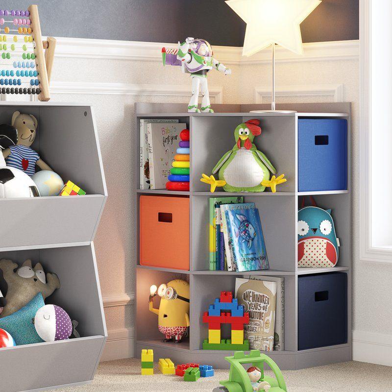Riverridge Home Riverridge 6 Cubby 3 Shelf Toy Organizer