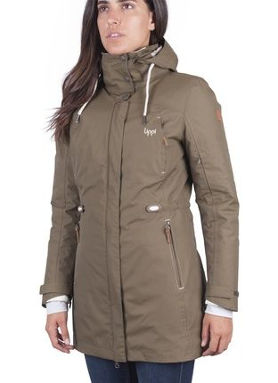 Chaqueta impermeable mujer doite
