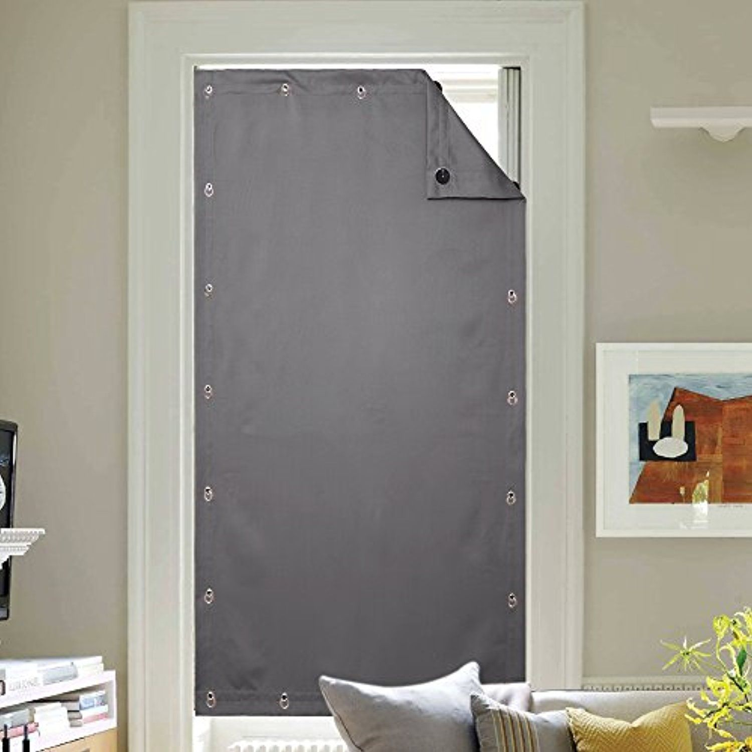 Travel Portable Blackout Window Blind Adjustable Blackout