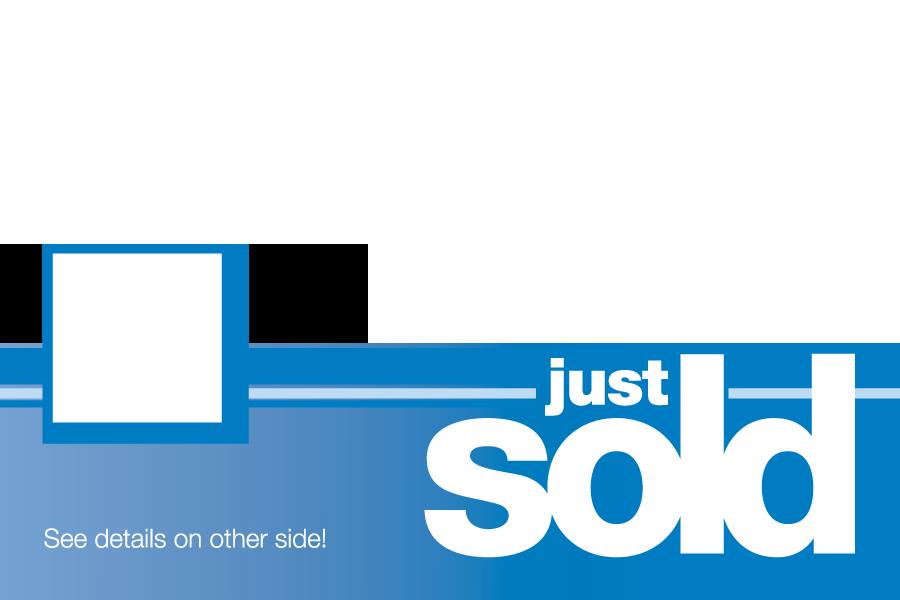 Just Sold Postcard Breakthrough Broker Real Estate Marketing Tools Free Marketing Template Real Estate Agency