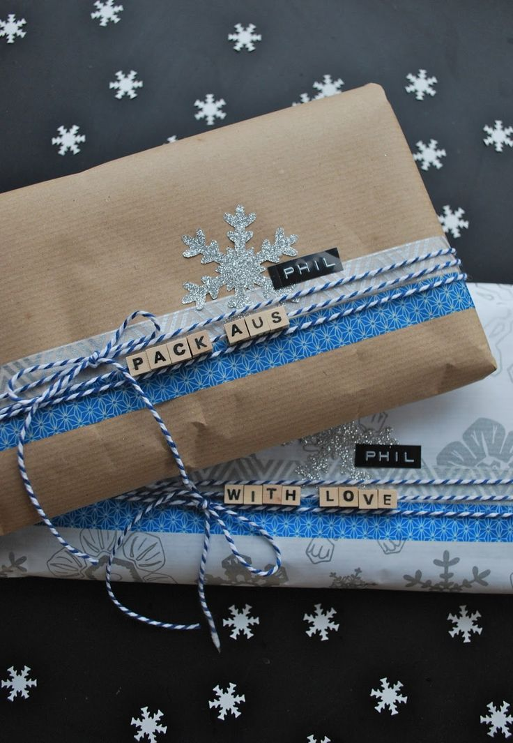 Photo of Beautiful gift packaging with attention to detail. // Pretty gift wrapping …