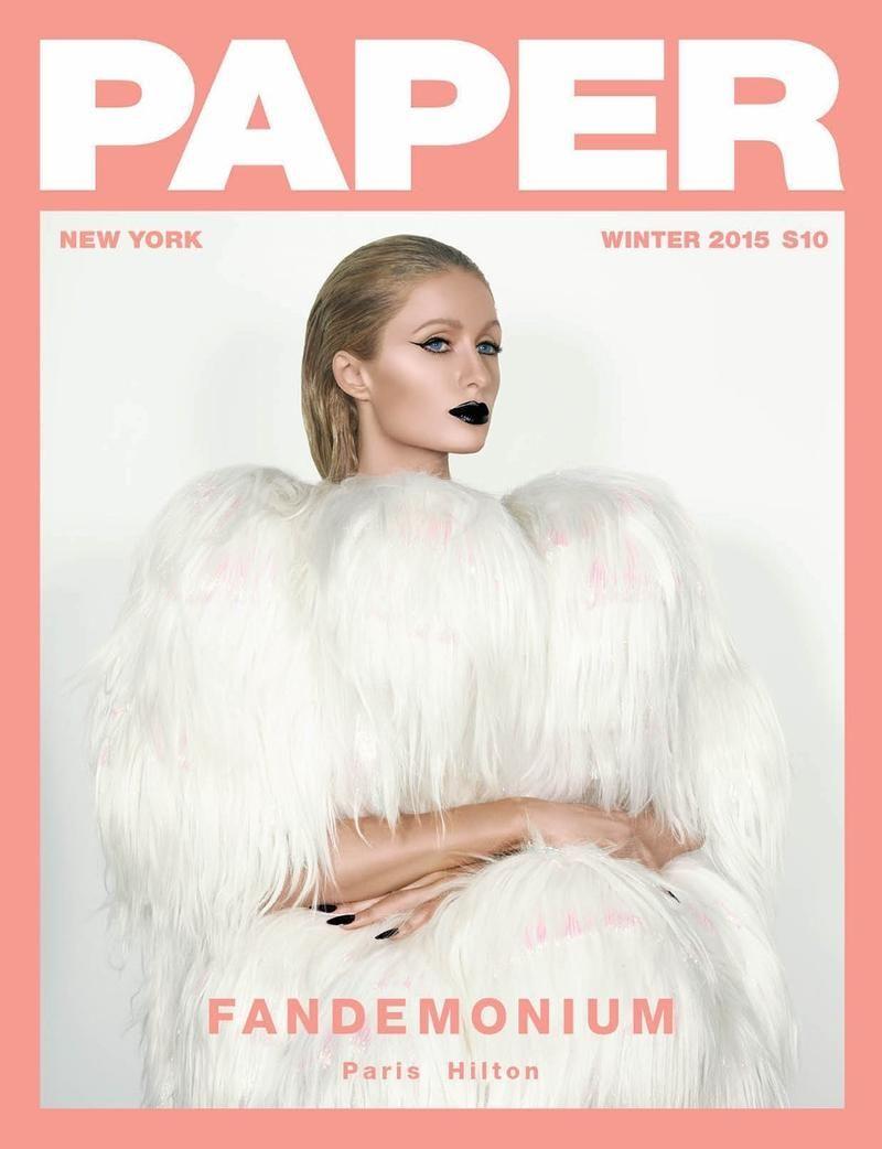 Paper Magazine Winter 2015 Magazine Covers (Paper Magazine)
