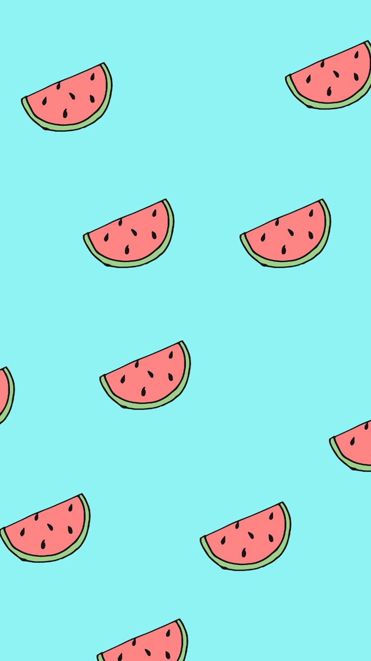 Free Desktop Wallpaper Watermelon Phone Jpg 750 1334 Papel De
