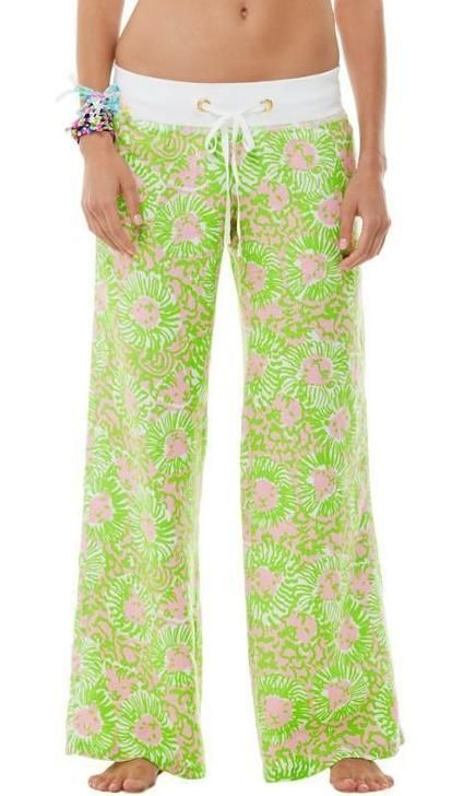 Lilly Pulitzer Linen Beach Pant in Sunnyside