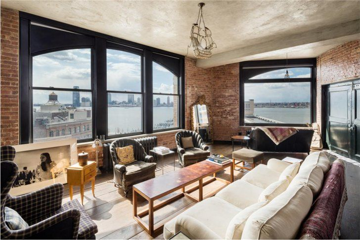Pin for Later: Rent Kirsten Dunst's New York Digs  The arched windows and incredible views are undeniable selling points.