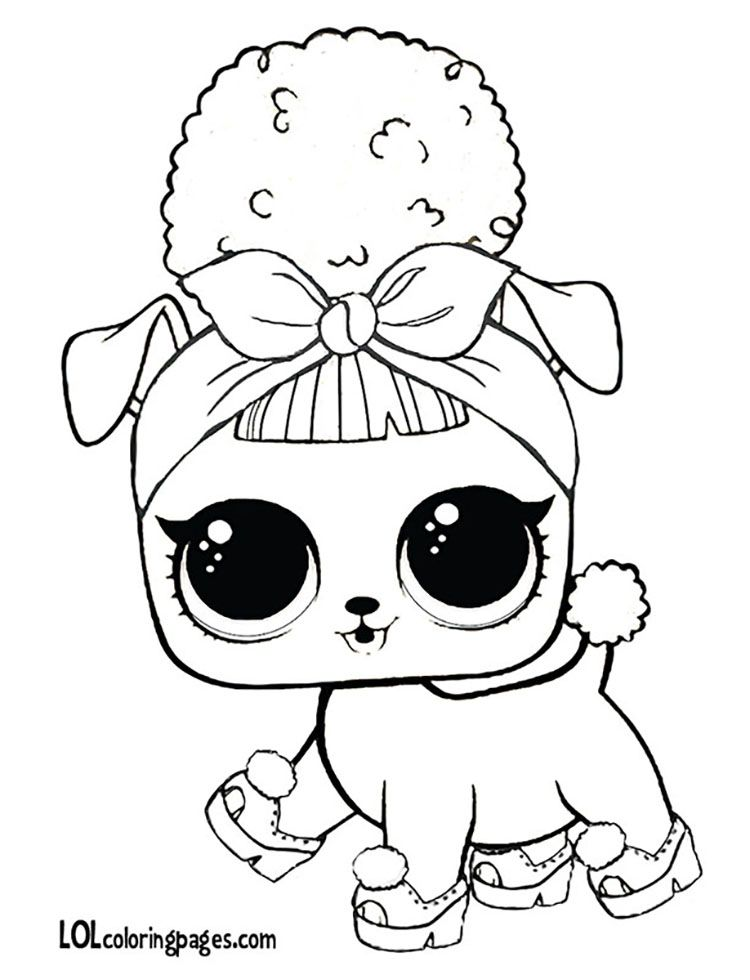 Coloriage LOL Pets Pages Cute Midnight