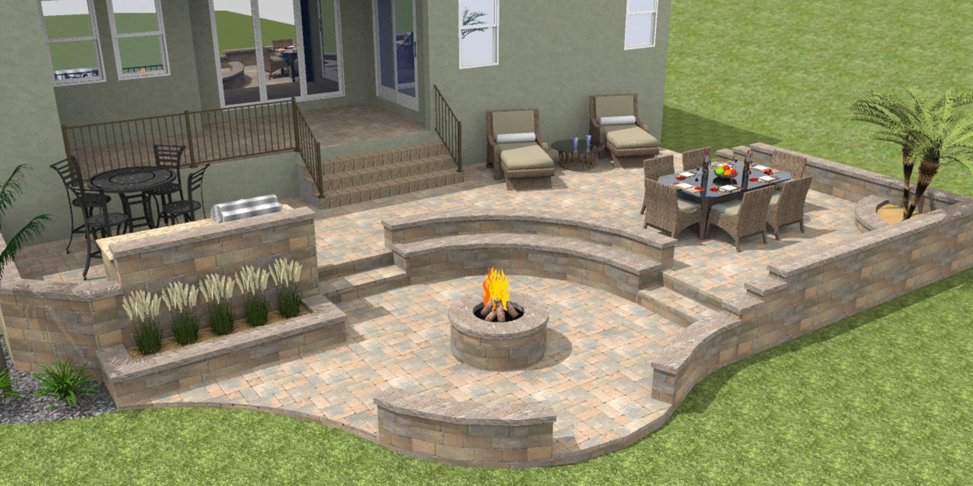 Image Result For Multi Level Patio Padio In 2018