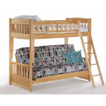 Cinnamon Twin Over Futon Bunk Bed Futon Bunk Beds At