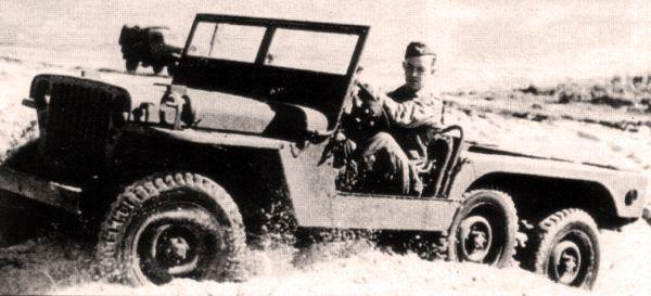 Jeep MT 6x6 aka Super Jeep, 1941.