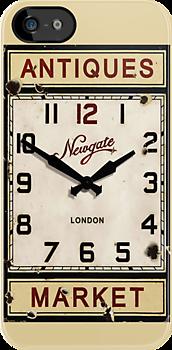 Vintage Clock by IvaIvanovaART
