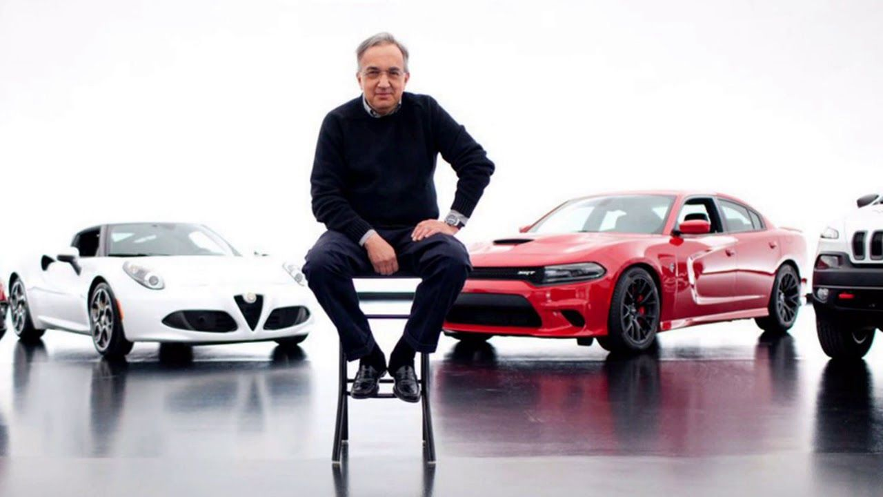 R.I.P. SERGIO MARCHIONNE The Great Italian that saved