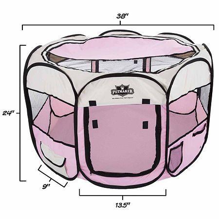 Petmaker Portable Pop Up Pet Play Pen with carrying bag