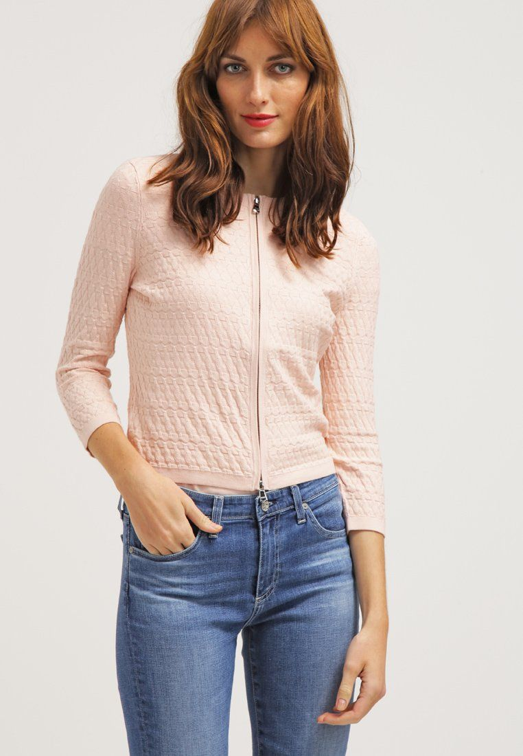 HUGO SAUDIA Gilet light pastel pink, Gilet Femme Zalando   Zalando ... 8241c7e6758