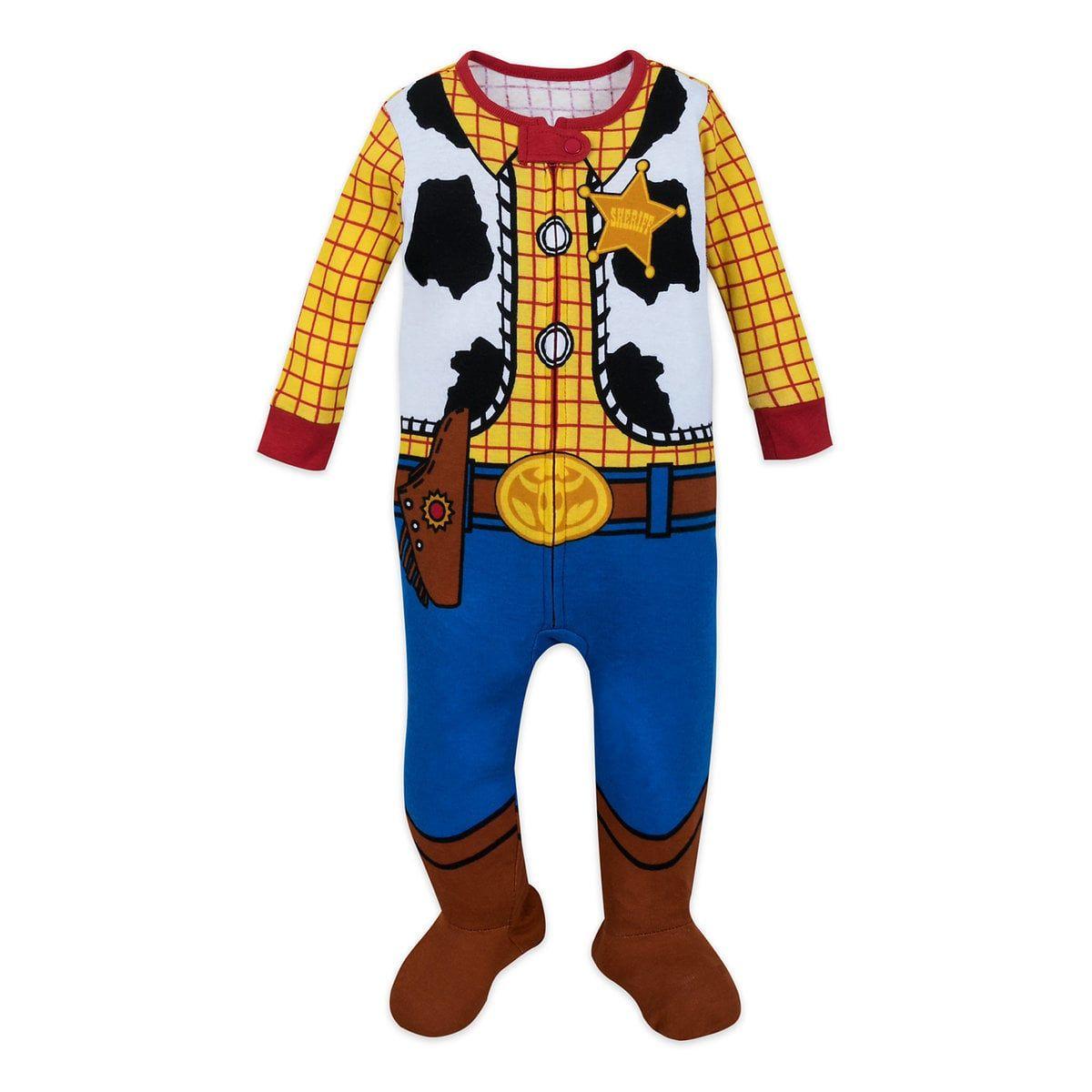 NWT Disney Store Buzz Lightyear Costume Sleeper 0 3 6 9 12 18 24mo Baby Boy